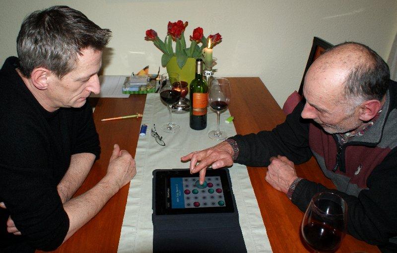 MONDRAGO auf dem iPad