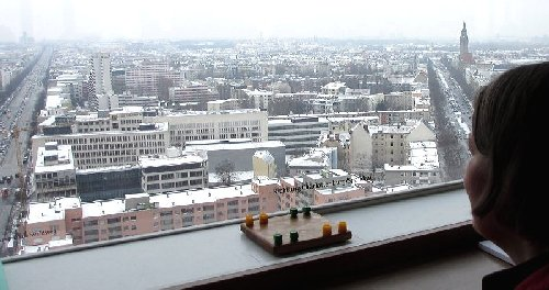 Mondrago im Telefunken-Hochhaus, Berlin, am Ernst Reuter - Platz