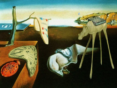 Mondrago. The persistance of an idea. (frei nach Salvador.Dali)