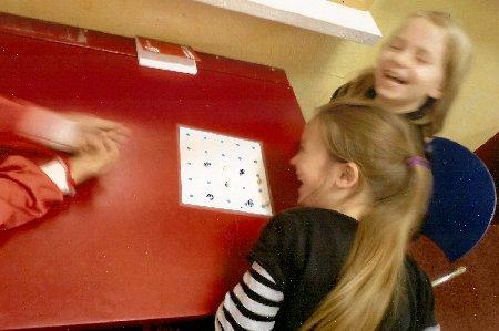 Mondrago in der Montessori Schule in Berlin