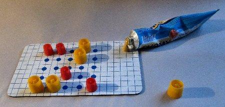 Multifunktionale MONDRAGO  Spielsteine